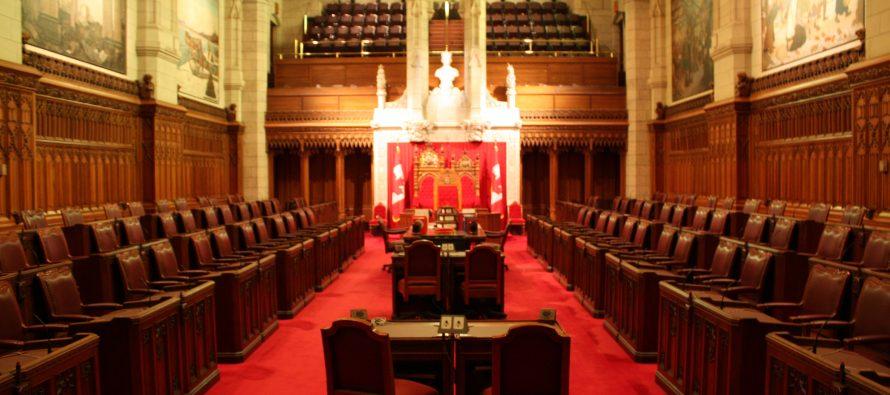 Should the Canadian Senate be abolished? 50% surveyed say yes.